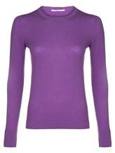Джемпер Agnona A10T6 94% кашемир, 6% полиамид Фиолетовый Италия изображение 0