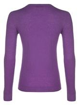 Джемпер Agnona A10T6 94% кашемир, 6% полиамид Фиолетовый Италия изображение 1
