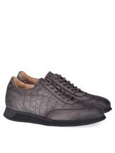 Кроссовки Santoni MBNV20745 100% кожа теленка Темно-серый Италия изображение 0