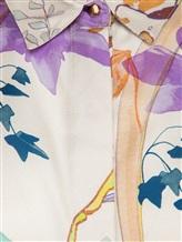 Блузка (текстиль) Agnona D4010Y 100% шёлк Натуральный Италия изображение 2