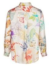 Блузка (текстиль) Agnona D4010Y 100% шёлк Натуральный Италия изображение 1