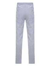Брюки (текстиль) Lardini EGMIAMI3 96% хлопок 4% эластан Бело-синий Италия изображение 1