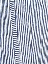 Брюки (текстиль) Lardini EGMIAMI3 96% хлопок 4% эластан Бело-синий Италия изображение 2