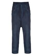 Брюки (текстиль) AVANT TOI 219U2654 100% конопля Темно-синий Италия изображение 0