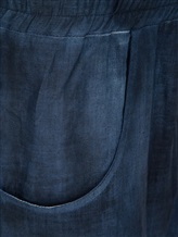 Брюки (текстиль) AVANT TOI 219U2654 100% конопля Темно-синий Италия изображение 2