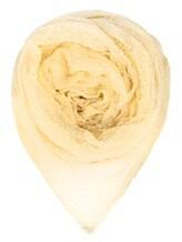 Шарф Faliero Sarti 0275 81% хлопок, 19% полиамид Бледно-желтый Италия изображение 0