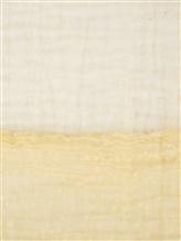 Шарф Faliero Sarti 0275 81% хлопок, 19% полиамид Бледно-желтый Италия изображение 1