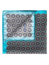 Платок Eton A00031399 100% шёлк Бирюзовый Италия изображение 1