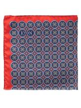 Платок Eton A00031399 100% шёлк Красный Италия изображение 0
