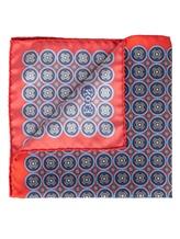 Платок Eton A00031399 100% шёлк Красный Италия изображение 1