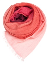 Палантин (текстиль) Faliero Sarti 0254 70% кашемир, 30% шёлк Бордовый Италия изображение 0