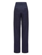 Брюки (текстиль) Peserico P04502 59% лён, 36% вискоза, 3% эластан, 2% полиэстер Синий Италия изображение 1
