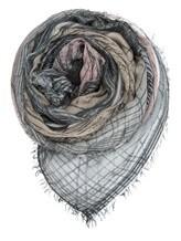 Платок Faliero Sarti 2002 90% модал, 10% кашемир Серый Италия изображение 0