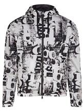 Куртка Herno GI0151U 100% полиамид Черно-белый Италия изображение 0