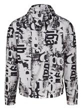 Куртка Herno GI0151U 100% полиамид Черно-белый Италия изображение 1