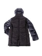 Пальто BREST JUS00N 48% полиэстер, 22% хлопок, 18% акрил, 6% полиамид, 6% шерсть Синий Италия изображение 1