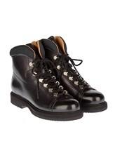 Ботинки Santoni 13466 100% кожа Черный Италия изображение 0