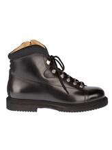Ботинки Santoni 13466 100% кожа Черный Италия изображение 1