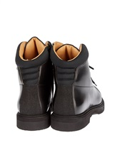 Ботинки Santoni 13466 100% кожа Черный Италия изображение 3