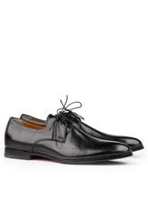 Туфли Santoni 10992 100% кожа Черный Италия изображение 0