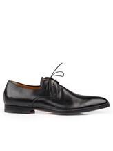 Туфли Santoni 10992 100% кожа Черный Италия изображение 1