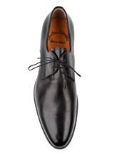 Туфли Santoni 10992 100% кожа Черный Италия изображение 4