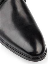 Туфли Santoni 10992 100% кожа Черный Италия изображение 5