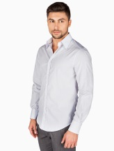 Рубашка Brunello Cucinelli 1716 100% хлопок Белый Италия изображение 1