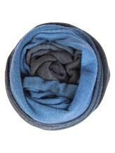 Шарф Pashmere 3013 70% кашемир 30% шёлк Синий Италия изображение 0