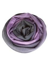Шарф Pashmere 3013 70% кашемир 30% шёлк Фиолетово-коричневый Италия изображение 0
