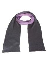 Шарф Pashmere 3013 70% кашемир 30% шёлк Фиолетово-коричневый Италия изображение 1