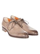 Ботинки Santoni 12185 100% кожа Бежевый Италия изображение 0