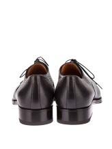 Ботинки Santoni 12185 100% кожа Антрацит Италия изображение 3