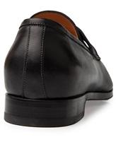 Туфли Santoni 11366 100% кожа Черный Италия изображение 3