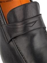 Туфли Santoni 11366 100% кожа Черный Италия изображение 5