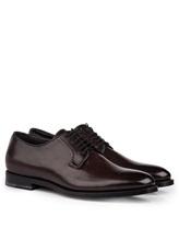 Ботинки Santoni 06479 100% кожа Темно-бордовый Италия изображение 0