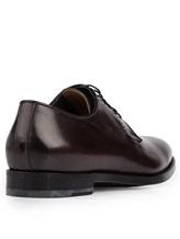 Ботинки Santoni 06479 100% кожа Темно-бордовый Италия изображение 3