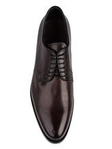 Ботинки Santoni 06479 100% кожа Темно-бордовый Италия изображение 4