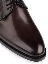 Ботинки Santoni 06479 100% кожа Темно-бордовый Италия изображение 5