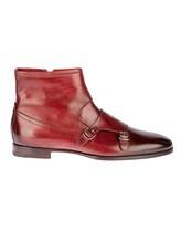 Ботинки Santoni 13436 100% кожа Бордовый Италия изображение 1