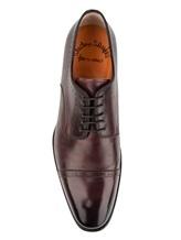Ботинки Santoni 07088 100% кожа Бордовый Италия изображение 4