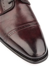 Ботинки Santoni 07088 100% кожа Бордовый Италия изображение 5