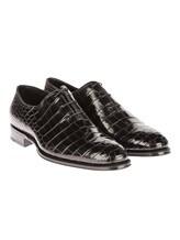 Туфли Santoni 10339 100% кожа Черный Италия изображение 0