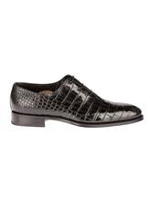 Туфли Santoni 10339 100% кожа Черный Италия изображение 1