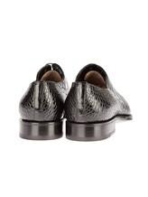 Туфли Santoni 10339 100% кожа Черный Италия изображение 3