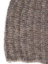 Шапка EREDA 18WEDSW710 64% вискоза, 30% альпака, 6% шерсть Бежево-серый Италия изображение 1