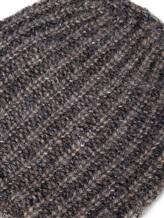 Шапка EREDA 18WEDSW710 64% вискоза, 30% альпака, 6% шерсть Серо-бежевый Италия изображение 1