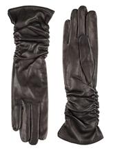 Перчатки Piero Restelli 0815 100% кожа Черный Италия изображение 0