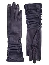 Перчатки Piero Restelli 0815 100% кожа Темно-синий Италия изображение 0