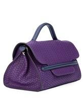 Сумка ZANELLATO 06581 100% кожа Фиолетовый Италия изображение 3